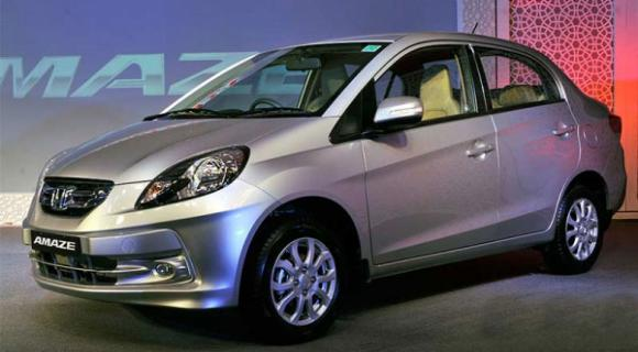 Honda Dealers Ri >> Honda Amaze Facelift 2016 interior revealed - GariPoint